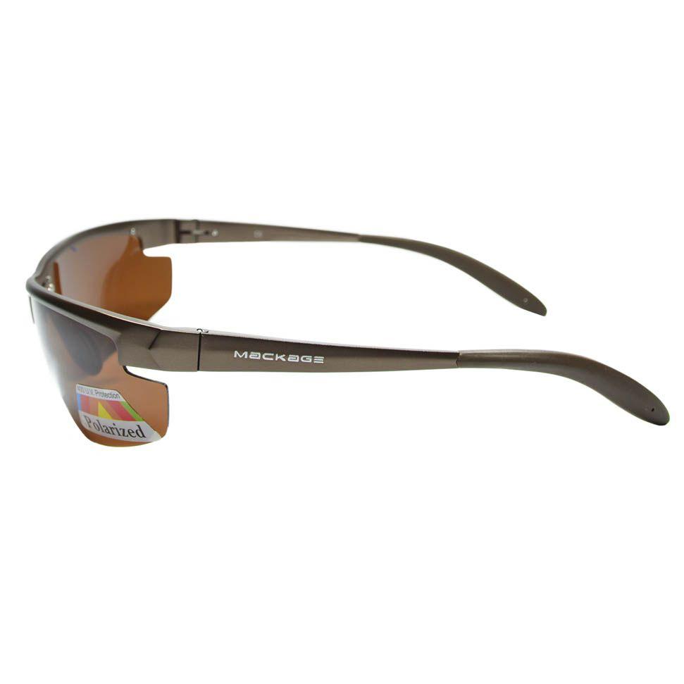 Óculos de Sol Esportivo Polarizado Mackage MMK17311 - Marrom