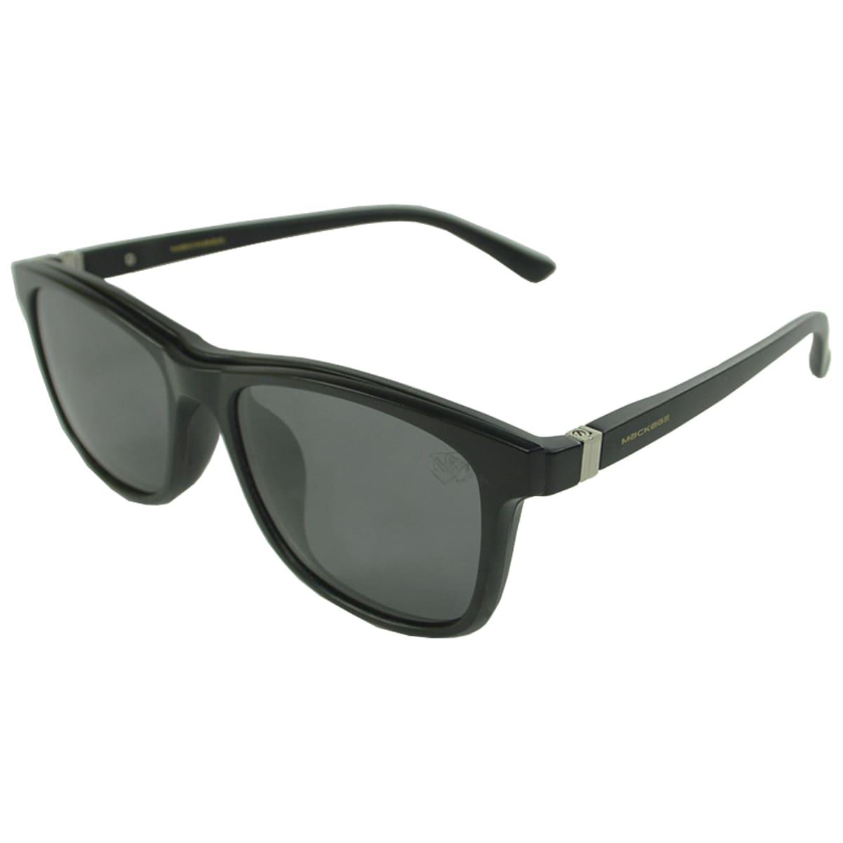 Óculos de Sol Clip On Mackage Polarizado MK2267C2 Preto Fosco