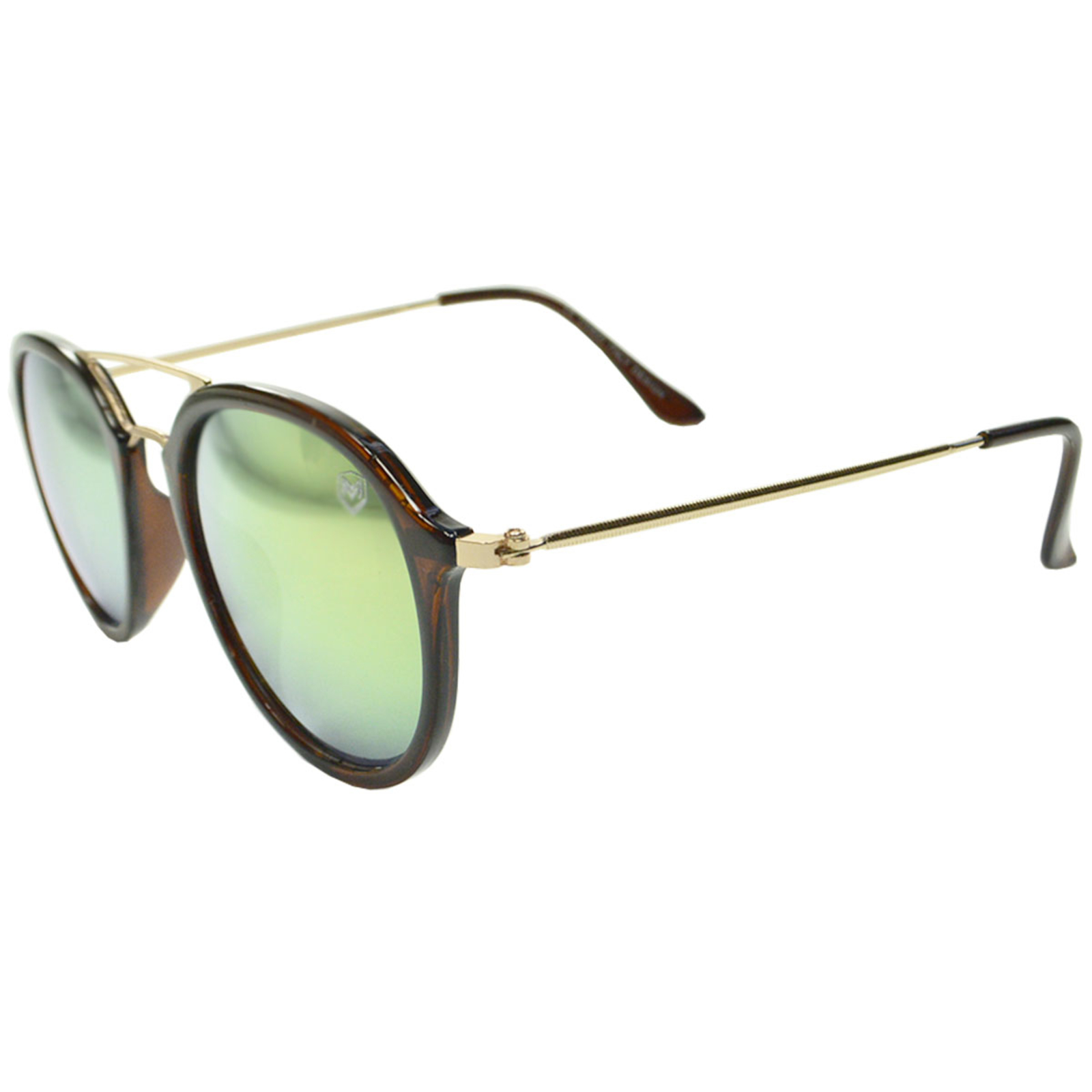 Óculos De Sol Mackage Unissex Acetato Aviator - Marrom