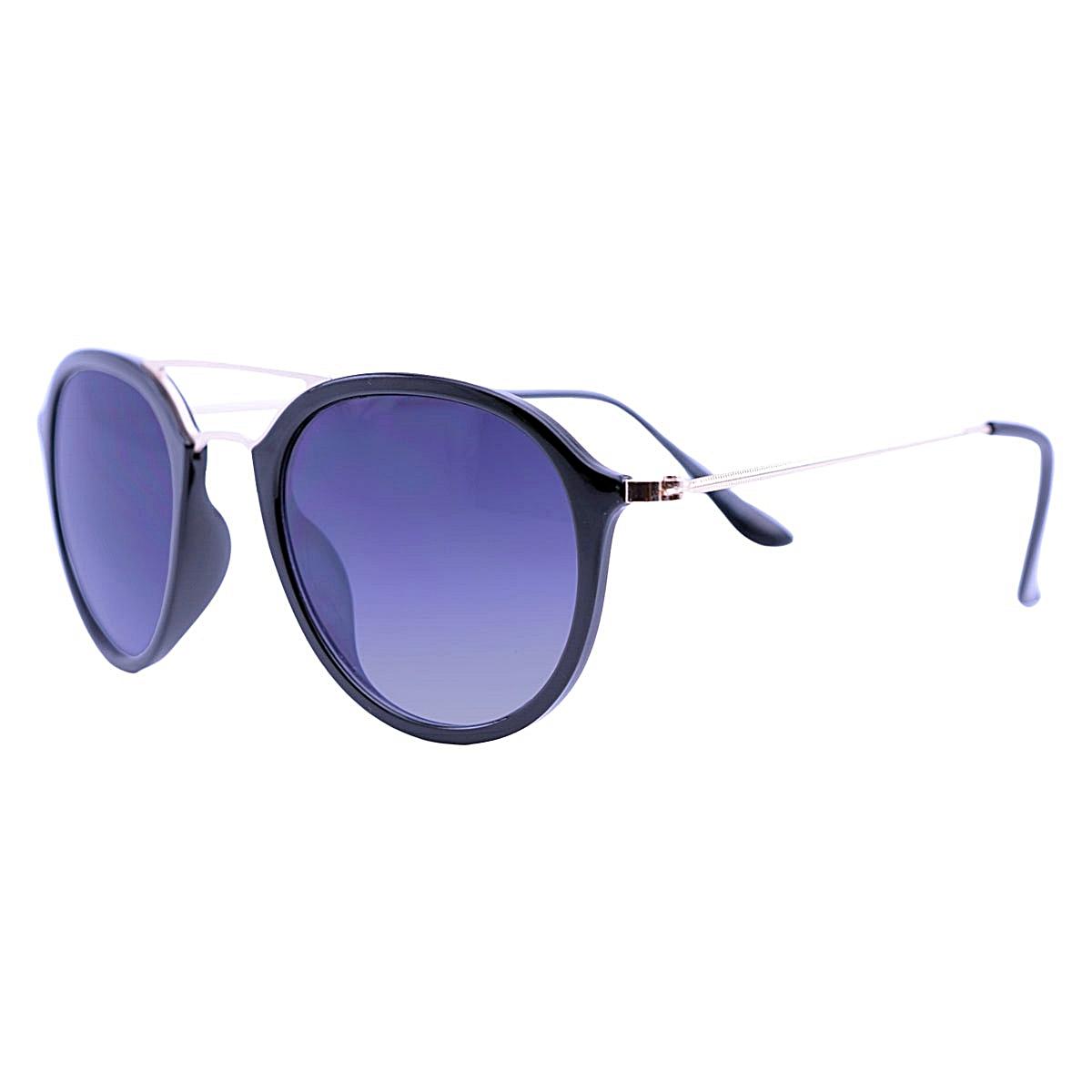 Óculos De Sol Mackage Unissex Acetato Aviator - Preto