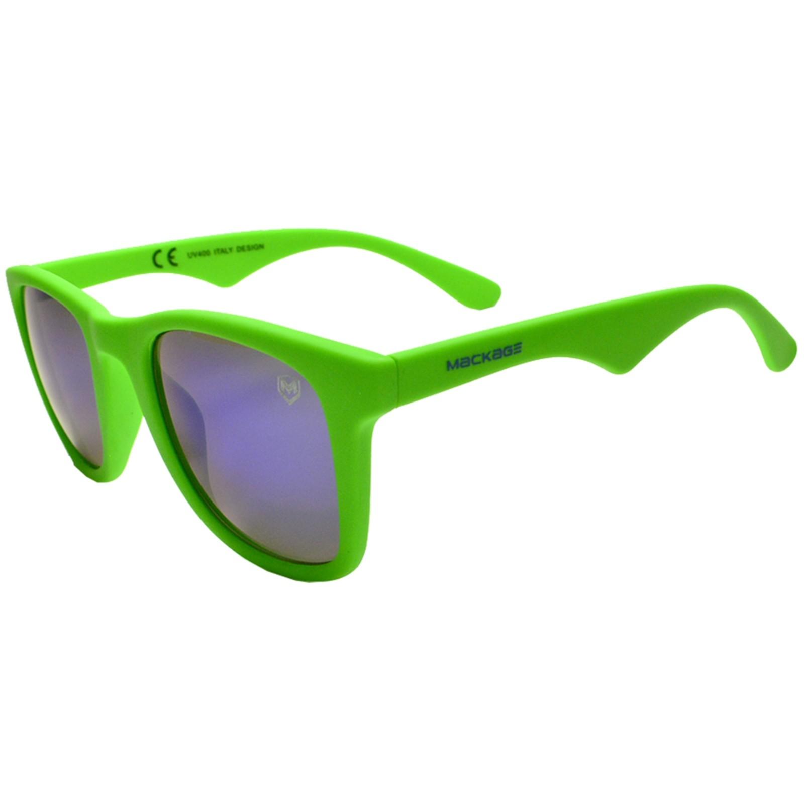 Óculos De Sol Mackage Unissex Acetato Justin - Verde Emborrachado