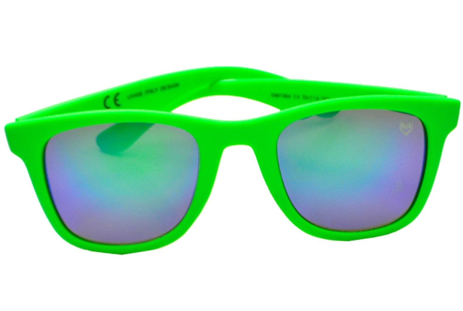 Óculos De Sol Mackage Unissex Acetato Esportivo - Verde Emborrachado