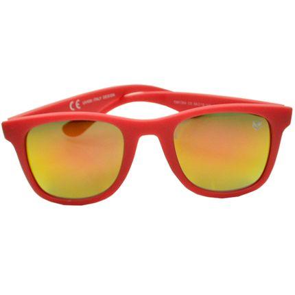 Óculos De Sol Mackage Unissex Acetato Esportivo - Vermelho Emborrachado