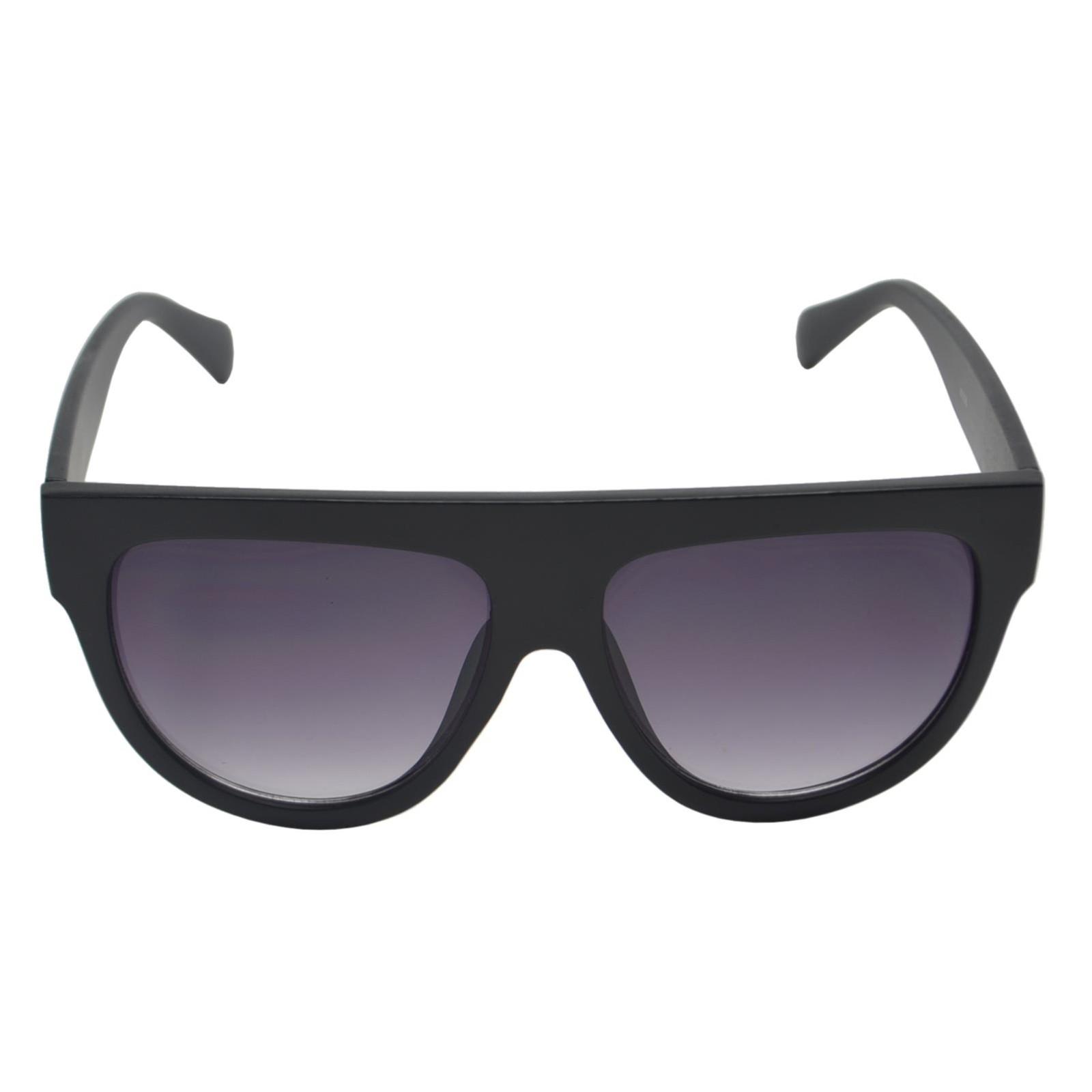 Óculos de Sol Mackage Unissex Acetato Fashion - Preto Fosco