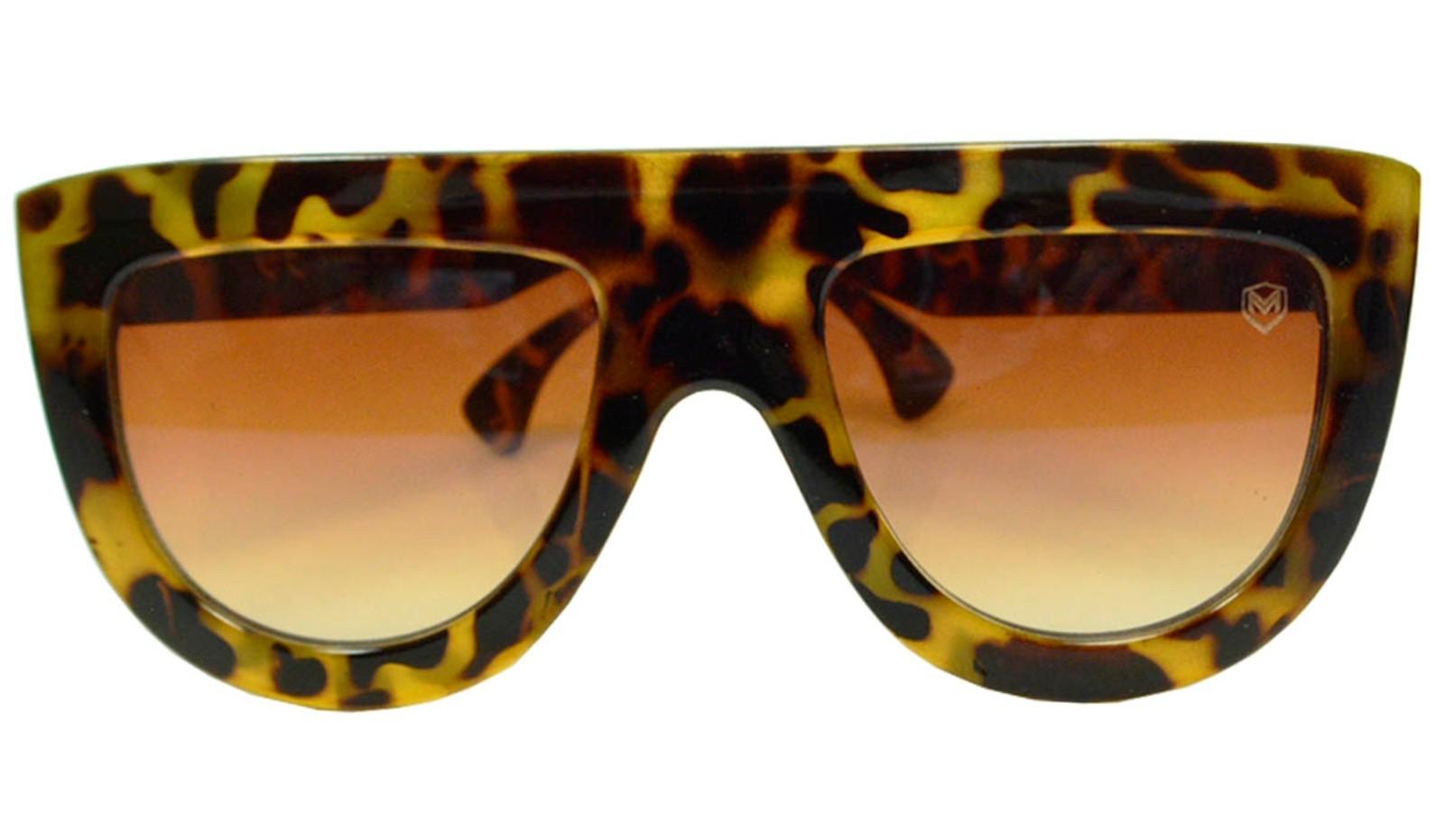 Óculos De Sol Mackage Unissex Acetato Fashion - Tartaruga