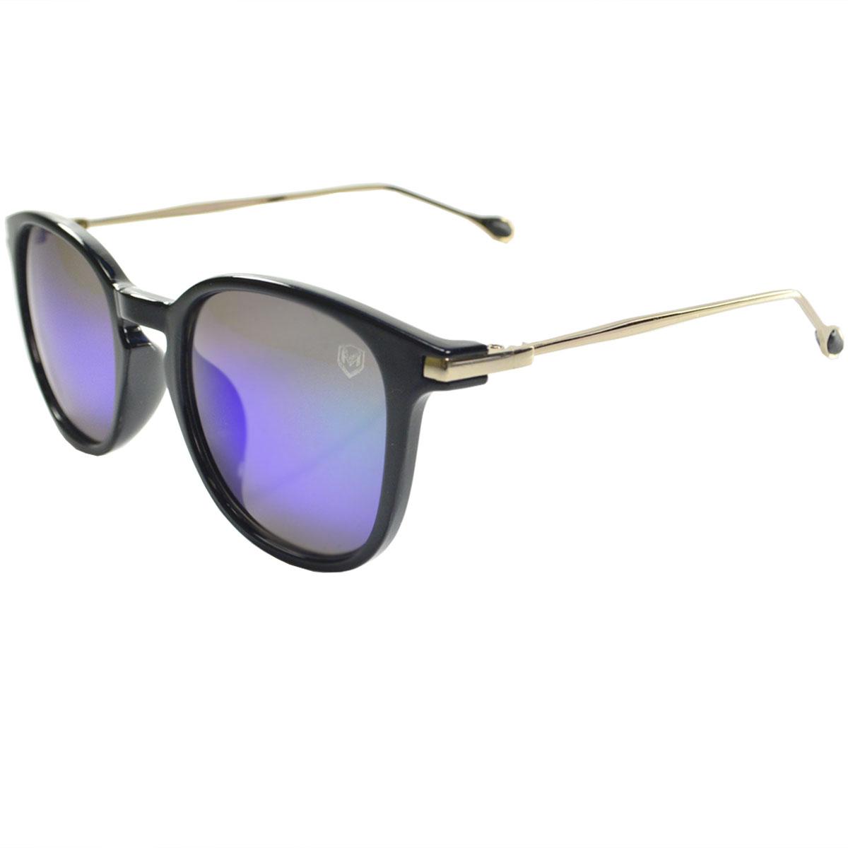 Óculos De Sol Mackage Unissex Acetato/Hastes Em Metal Retangular
