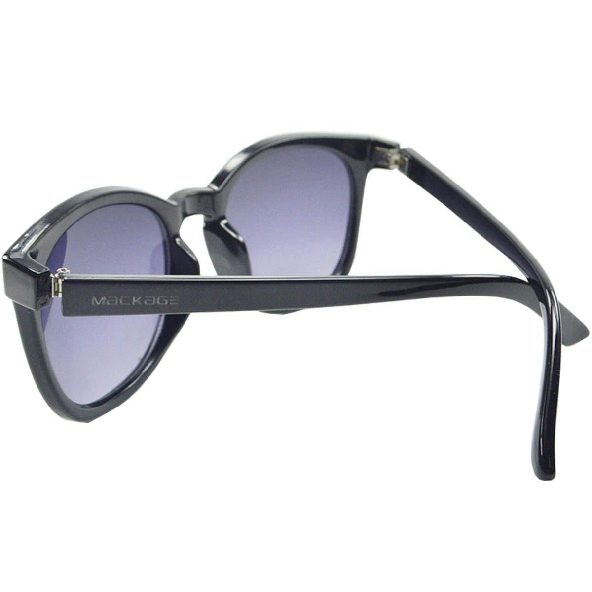 Óculos De Sol Mackage Unissex Acetato Retangular Retrô