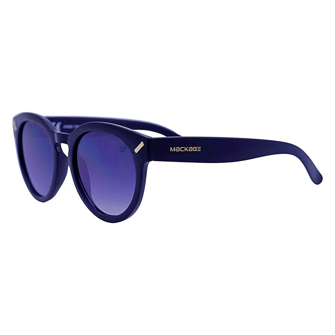Óculos De Sol Mackage Unissex Acetato Retrô Round