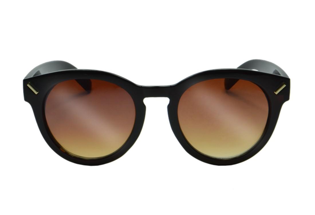 Óculos de Sol Mackage Unissex Acetato Retrô Round - Marrom