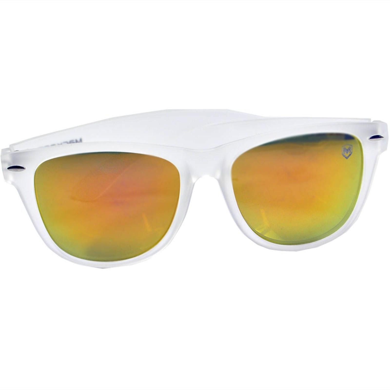 Óculos De Sol Mackage Unissex Acetato Wayfarer - Gelo