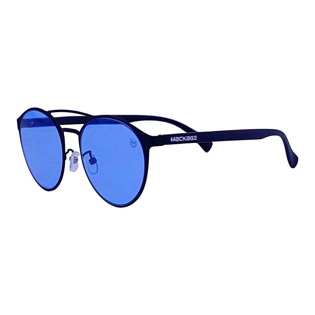 Óculos De Sol Mackage Unissex Metal-Acetato Redondo