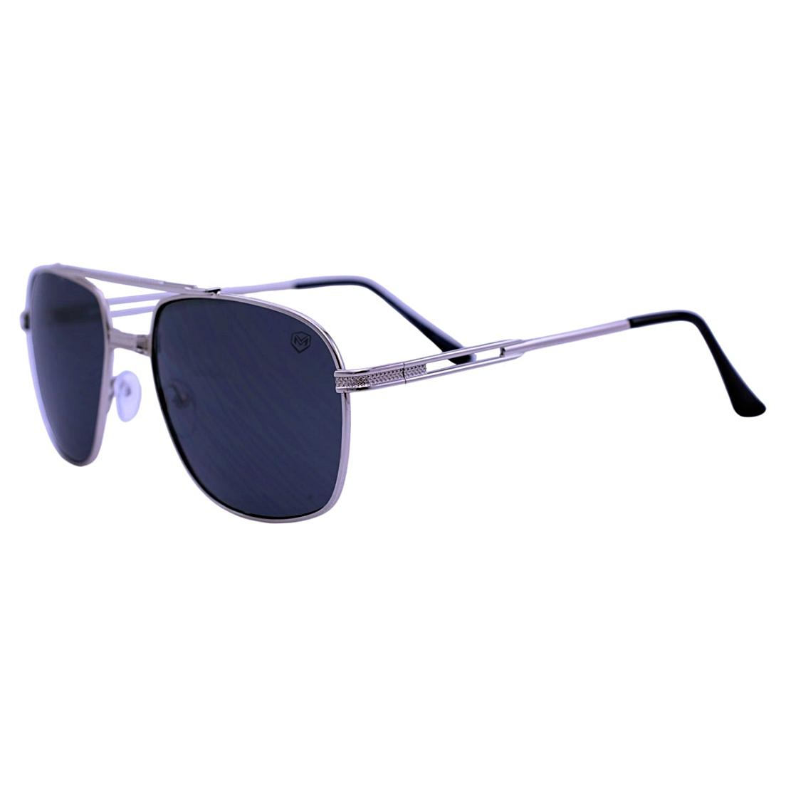 Óculos De Sol Mackage Unissex Metal Aviator - Dourado