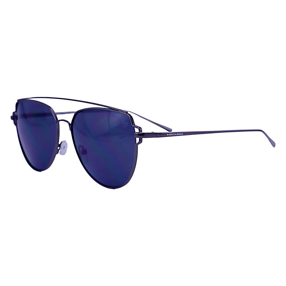 Óculos De Sol Mackage Unissex Metal Aviator - Grafite