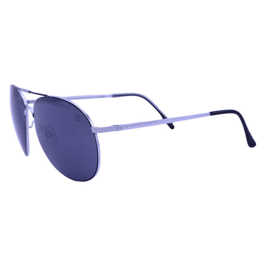Óculos de Sol Mackage Unissex Metal Aviator - Prata