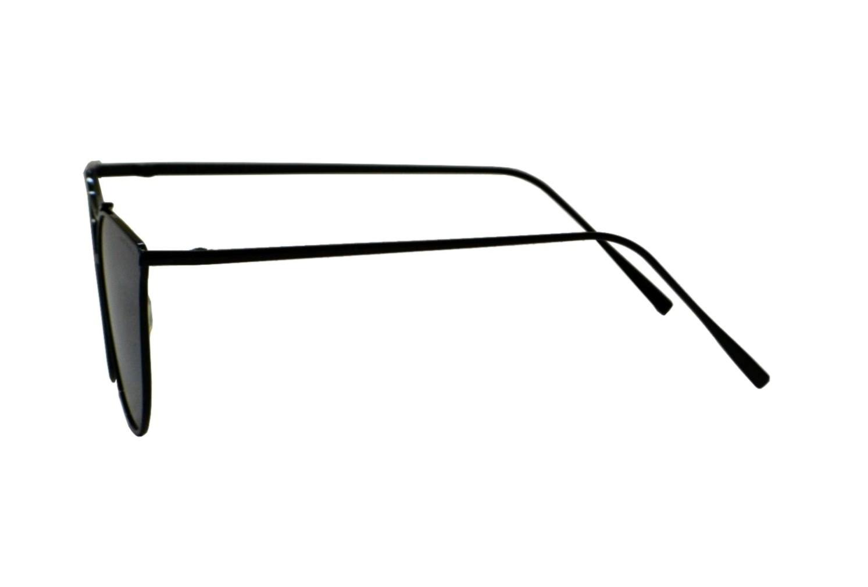 Óculos de Sol Mackage Unissex Metal Gateado - Preto