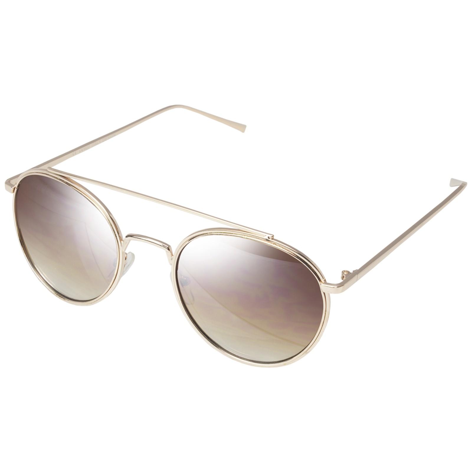 Óculos de Sol Mackage Unissex Metal Round - Dourado