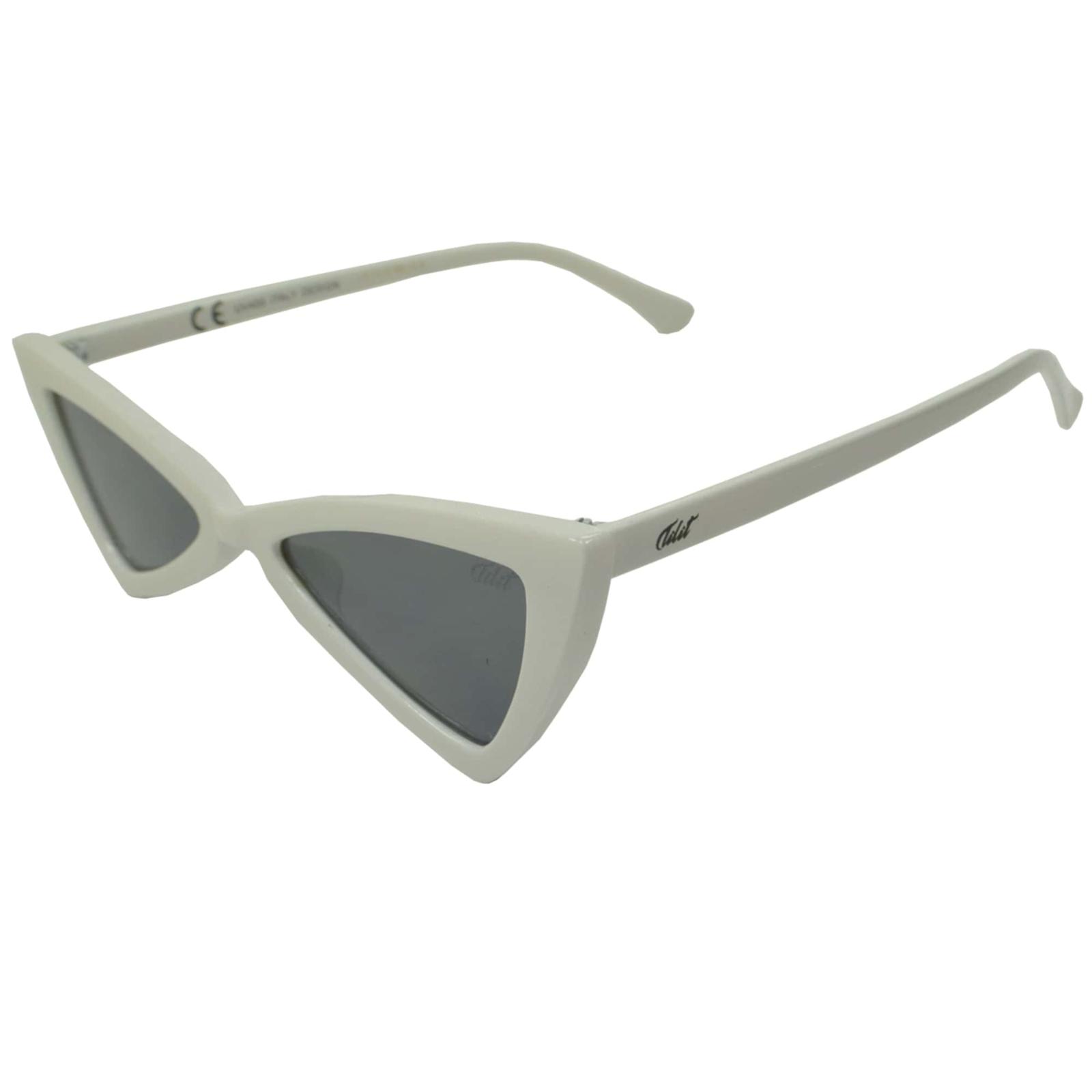 Óculos De Sol Tilit Feminino Acetato Butterfly - Branco