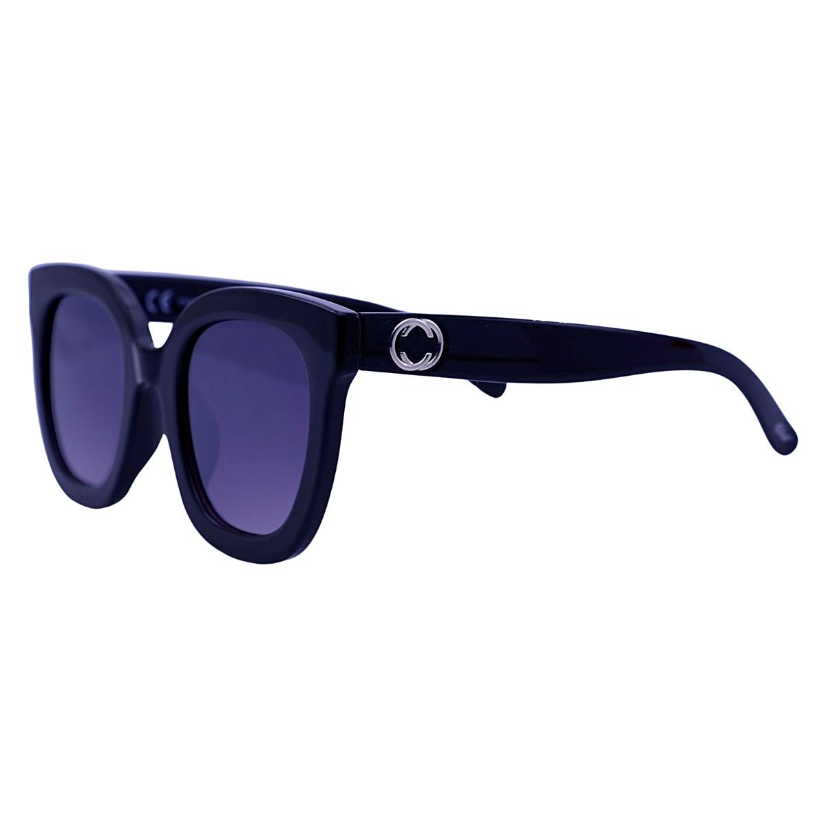 Óculos De Sol Tilit Feminino Acetato Oversize - Preto