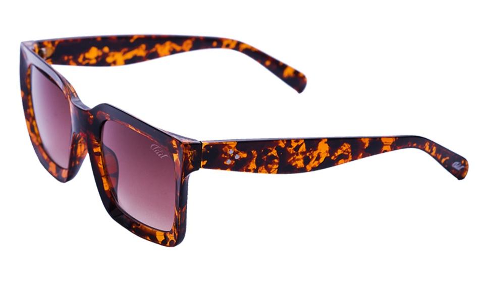 Óculos De Sol Tilit Feminino Retangular Retrô