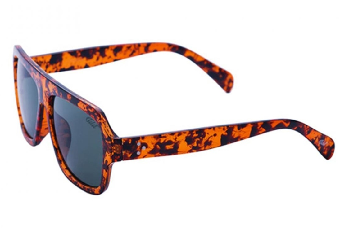 Óculos De Sol Tilit Masculino Acetato Retangular - Tarta