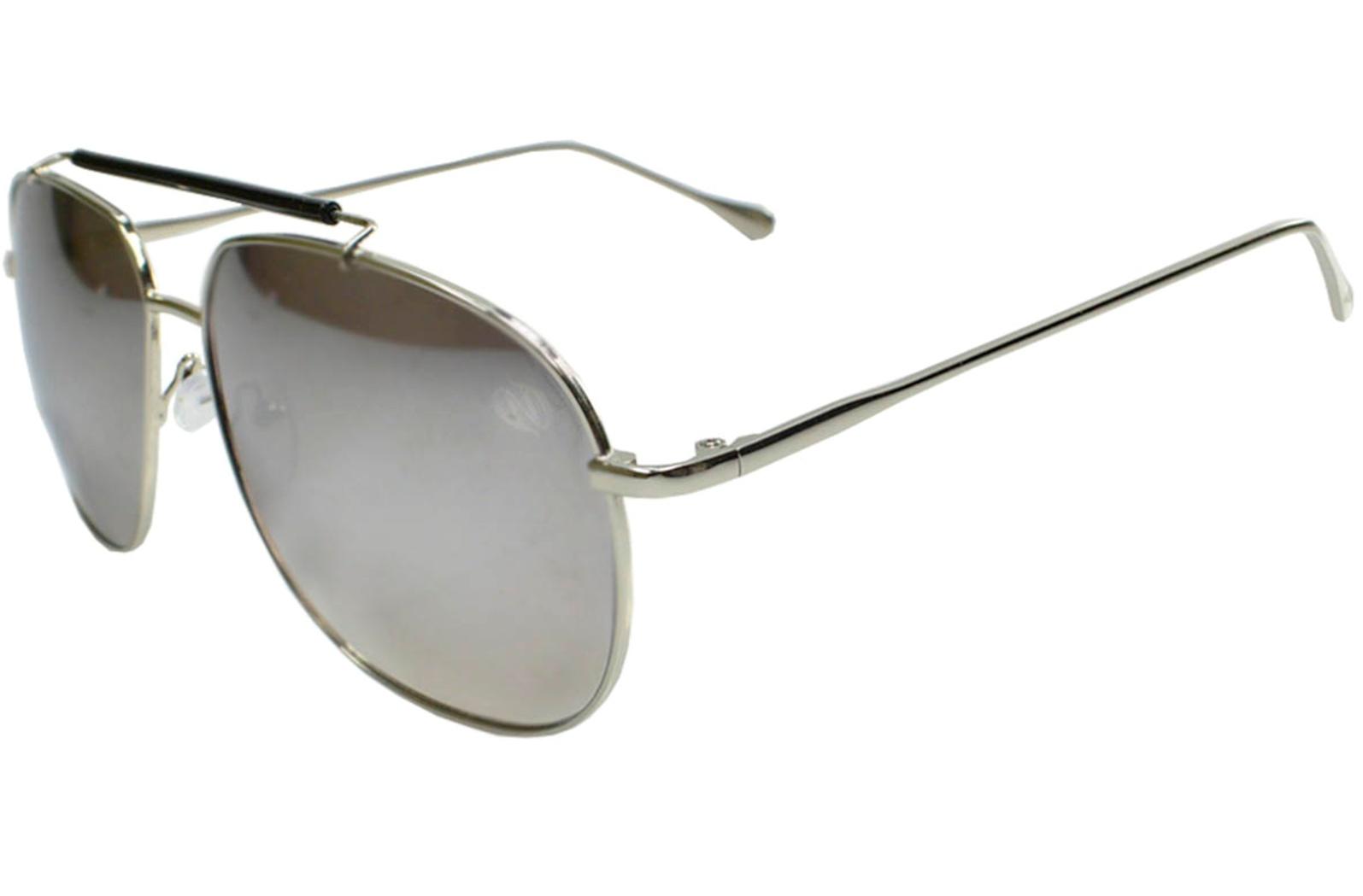 Óculos De Sol Tilit Masculino Metal Caçador - Prata - Único