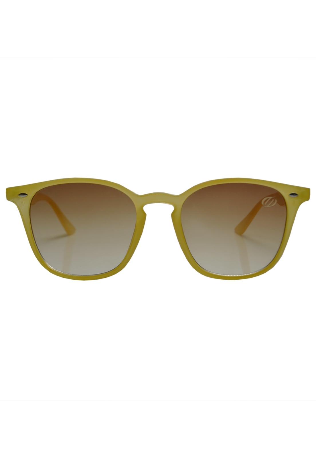 ÓCulos De Sol Tilit Unisex Acetato Quadrado Wayfarer - Amarelo