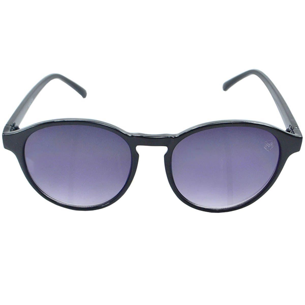 Óculos de Sol Redondo Unissex Mackage MK047 Preto