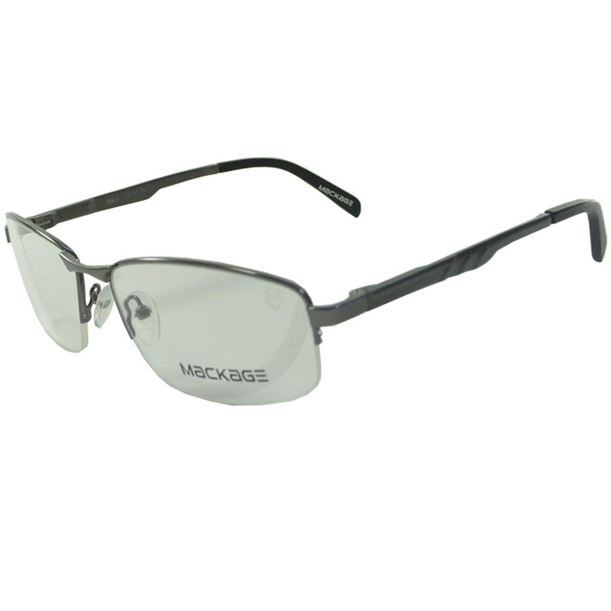 0694b4ceaa835 Óculos Mackage Armação MKA4035C2 Preto Lilás