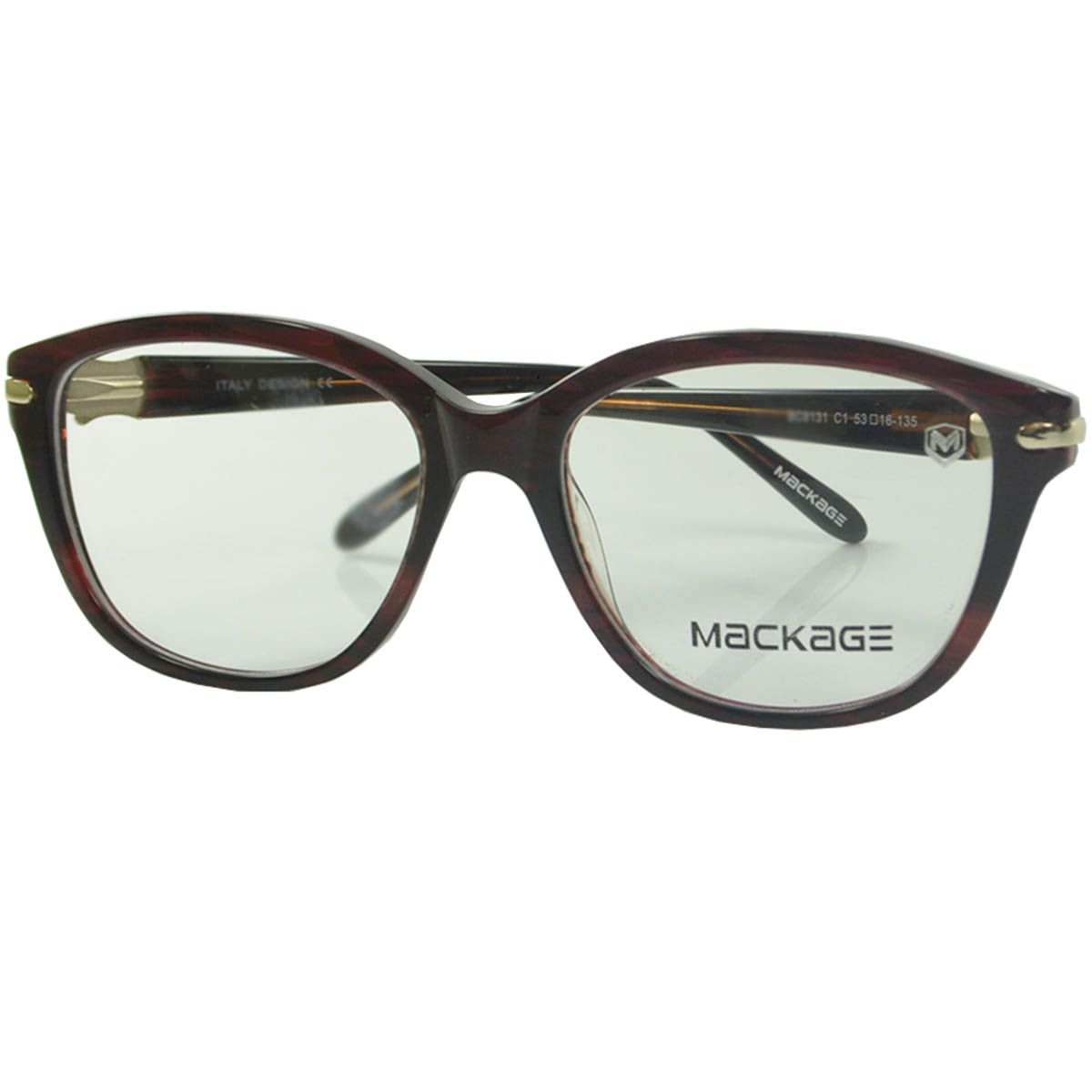 Óculos Mackage - Armação MKA8131C1 Vinho