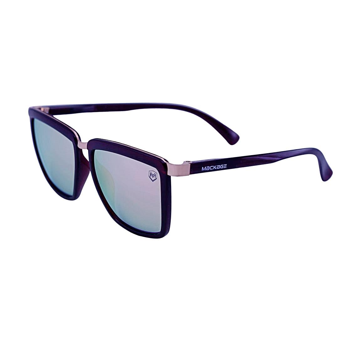 Óculos Sol Mackage Unissex Acetato Retangular