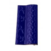 Borda de Piscina 12x25 Golfinho Azul Brilhante