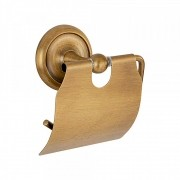 Papeleira de Banheiro Retrô Goya Dourado