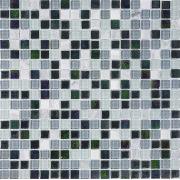 Pastilha de Vidro com Pedras Naturais e Metais TS 403