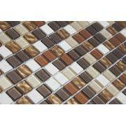 Pastilha de Vidro com Pedras Naturais e Metais TS 505