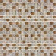 Pastilha de Vidro com Pedras Naturais e Metais TS 514