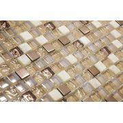Pastilha de Vidro com Pedras Naturais e Metais TSCR 259