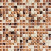 Pastilha de Vidro com Pedras Naturais e Metais TSCR 260