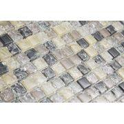 Pastilha de Vidro com Pedras Naturais e Metais TSCR 293