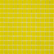 Pastilha de Vidro Cristal Amarela SM 19