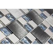 Pastilha de Vidro com Metal Modulare Especial RB 145058