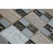 Pastilha de Vidro com Metal Modulare Especial RB 145059