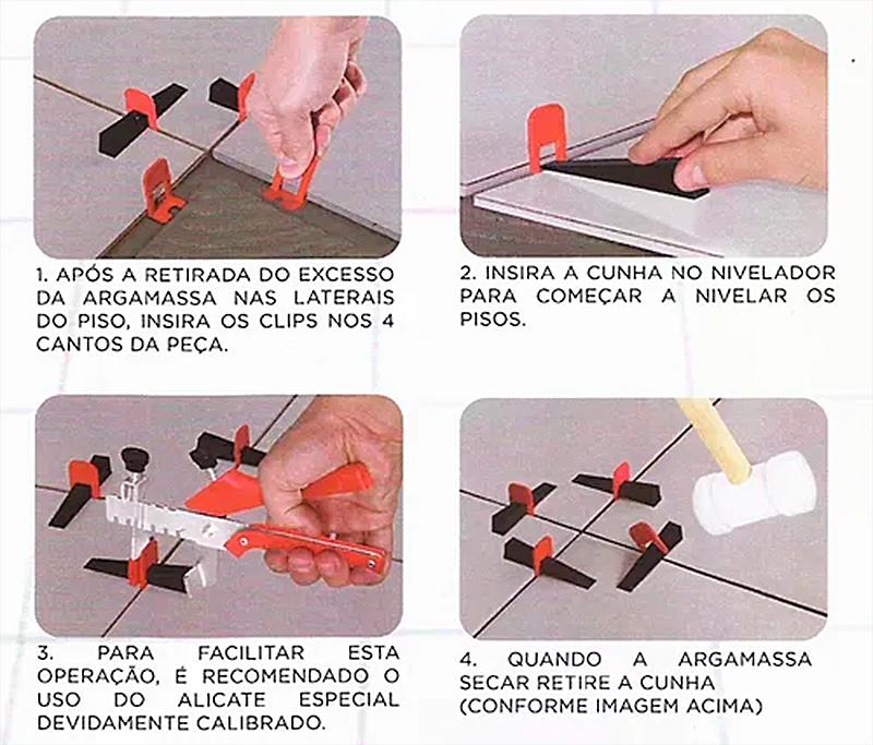 Alinha Piso 4.0mm para Nivelamento de Piso