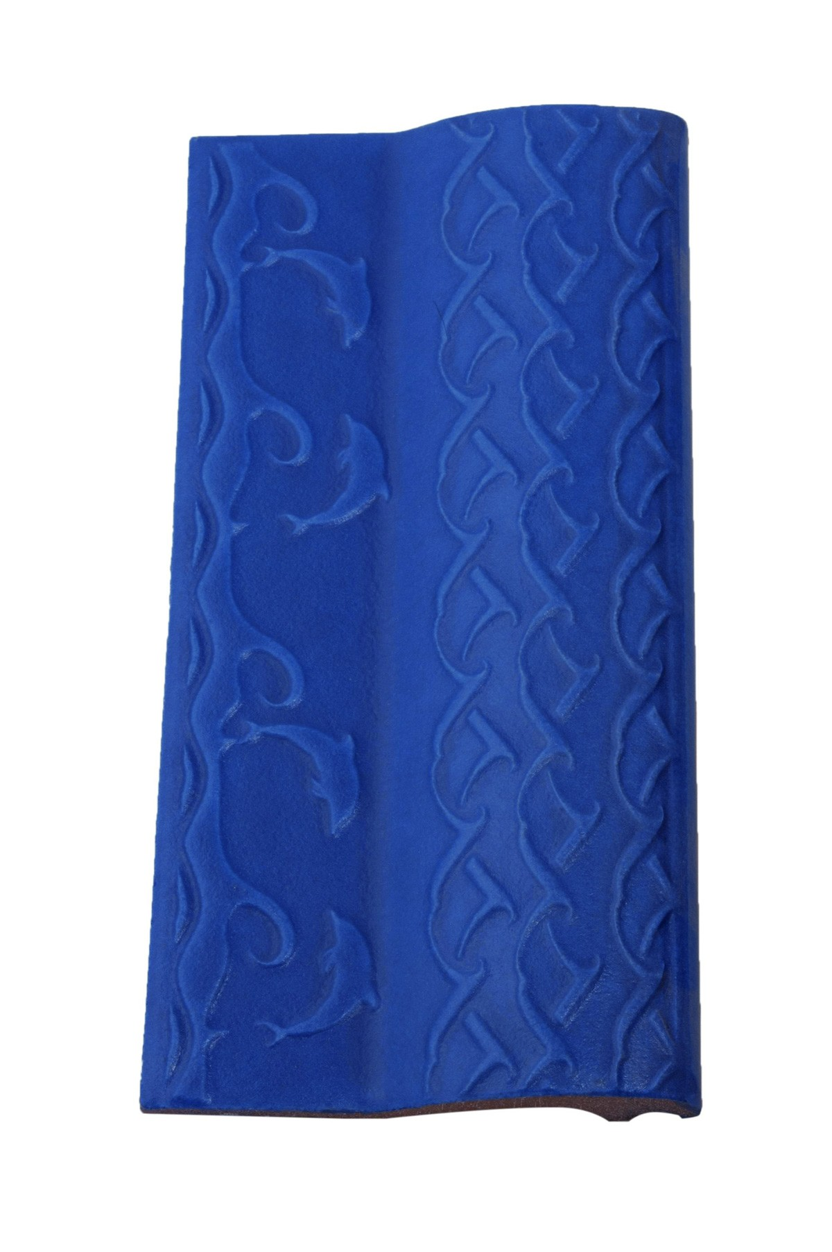 Borda de Piscina 12x25 Golfinho Azul Royal