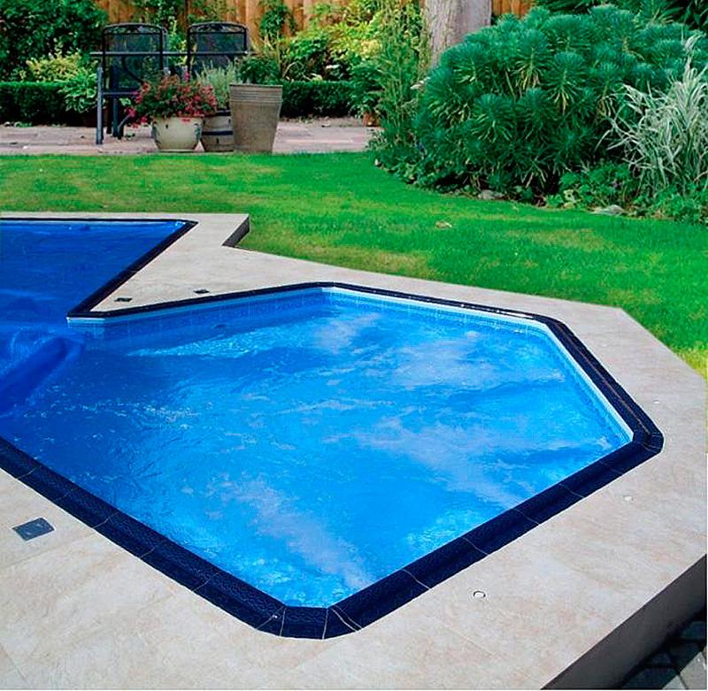 Borda de Piscina 12x25 Golfinho Azul Royal