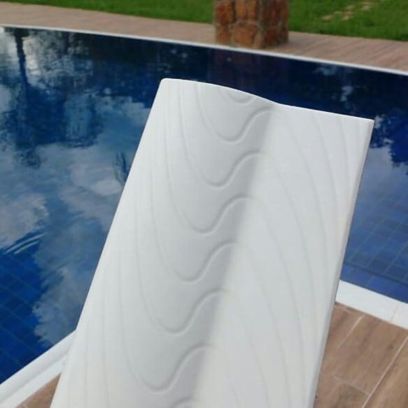 Borda de Piscina 12x25 Golfinho Branca