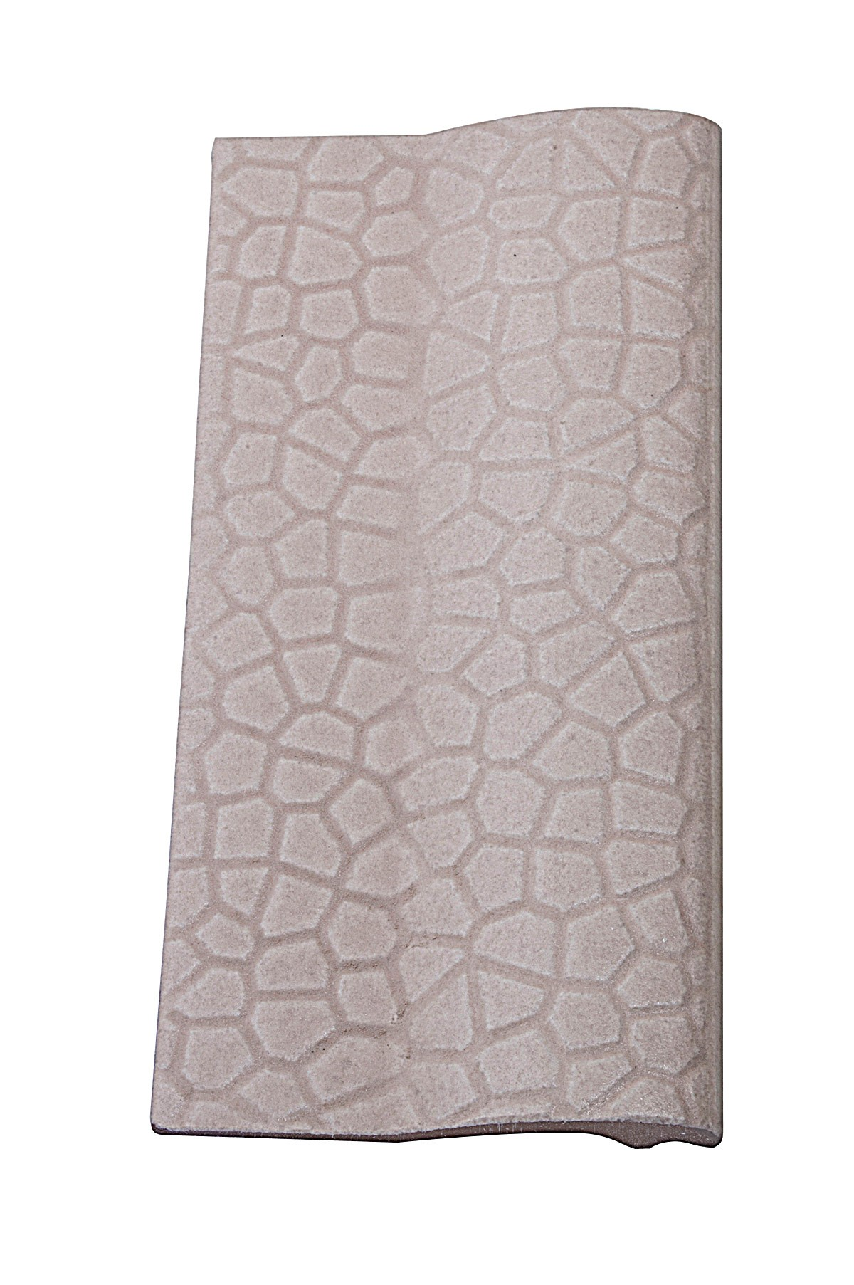Borda de Piscina 12x25 Mosaico Bege