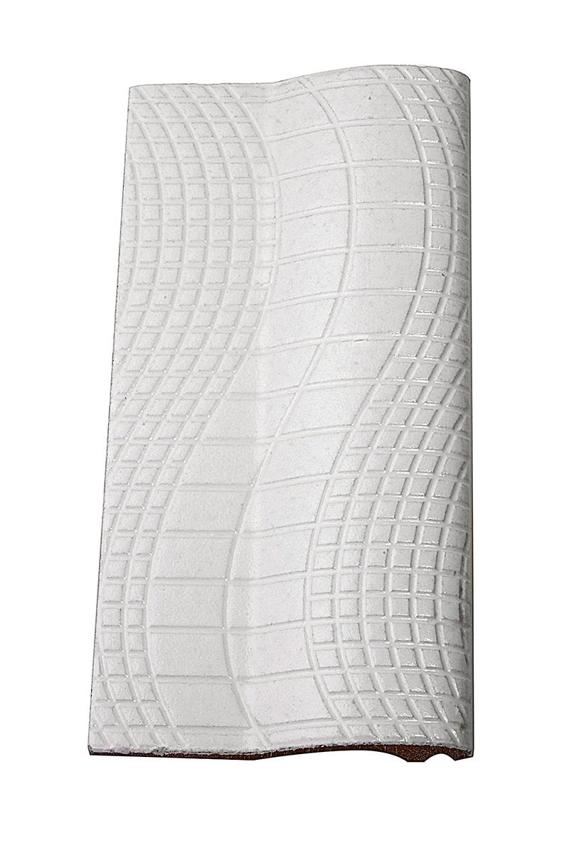 Borda de Piscina 12x25 Pastilhado Branca