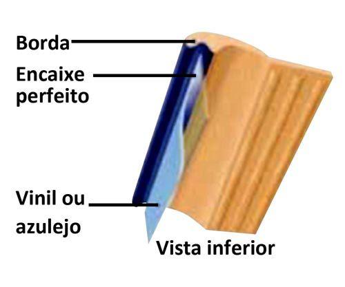 Borda de Piscina 12x25 Mosaico Azul Royal