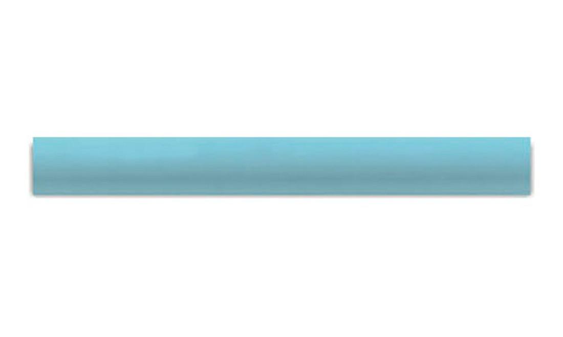 Cantoneira Côncava para Piscina 3,5x25 Azul Celeste