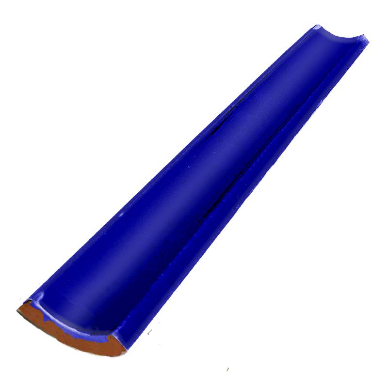 Cantoneira Convexa para Piscina 3,5x25  Azul Brilhante